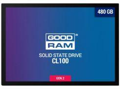 Твердотільний накопичувач GOODRAM CL100 Gen.2 480GB SSDPR-CL100-480-G2
