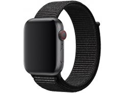 Ремінець Apple Sport Loop for Apple Watch 44mm Black  (MTM72)