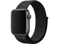 Ремінець Apple Sport Loop for Apple Watch 40mm Black  (MTLT2)