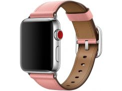 Ремінець Apple Classic Buckle for Apple Watch 38mm Soft Pink  (MRP32)