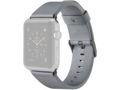 Ремінець Belkin for Apple Watch 38mm Classic Leather Band Grey  (F8W731btC02)