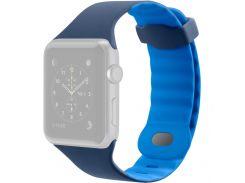 Ремінець Belkin for Apple Watch 38mm Sport Band Blue  (F8W729btC02)