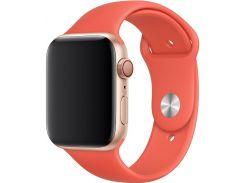Ремінець Apple Sport Band for Apple Watch 44mm Nectarine - S/M M/L  (MTPQ2)