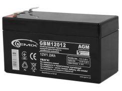 Батарея для ПБЖ Gemix GBM12012  (GBM12012 12V 1.2Ah)