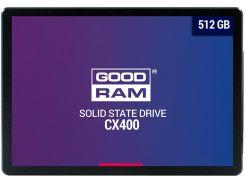 Твердотільний накопичувач GOODRAM CX400 1TB SSDPR-CX400-01T