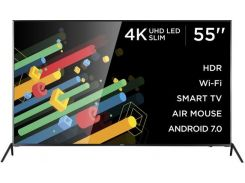 Телевізор LED Ergo 55DU6510 (Android TV, Wi-Fi, 3840x2160)