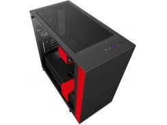 Корпус для ПК NZXT H400 Black Red  (CA-H400B-BR)
