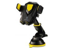 Кріплення для мобільного телефону Remax Transformer Holder RM-C26 Black/Yellow  (RM-C26-BLACK+YELLOW)