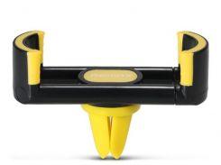Кріплення для мобільного телефону Remax Fashion RM-C17 Black/Yellow  (RM-C17-BLACK+YELLOW)
