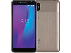 Смартфон 2E E500A 2019 1/8GB Champagne Gold  (680051628684)