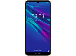 Смартфон Huawei Y6 2019 2/32GB Brown Faux Leather