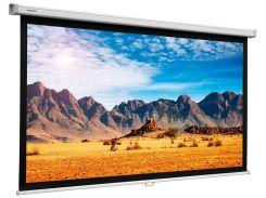 Проекційний екран PROJECTA SlimScreen 1.3х2.4м, настінний моторизований