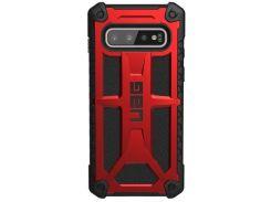 Чохол UAG for Samsung Galaxy S10 - Monarch Crimson  (211341119494)