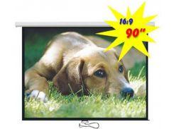 Проекційний екран Logan PRMC3 2м. х 1,1м. настінний
