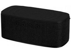 Портативна акустика Momax Q.Zonic Black  (QS1D)