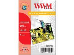 Фотопапір 10x15 WWM 5 аркушів (G200.F5/C)
