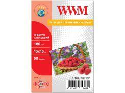 Фотопапір 10x15 WWM Premium 50 аркушів (G180.F50.Prem)