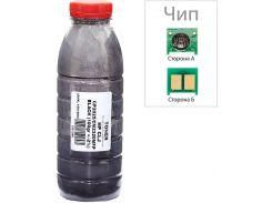 Тонер + чіп АНК for HP CLJ CP2025/CM2320 Black бутль 100g
