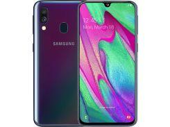 Смартфон Samsung Galaxy A40 A405F 4/64GB SM-A405FZKDSEK Black
