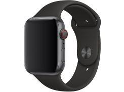 Ремінець Apple Sport Band for Apple Watch 44mm Black - M/L X/L  (MU9L2)