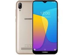 смартфон doogee x90 1/16gb gold  (x90 gold)