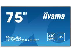 Монітор iiyama LE7540UHS-B1 Black