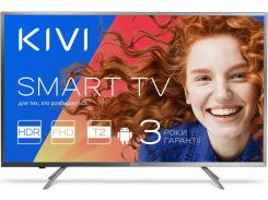 Телевізор LED Kivi 40FR55BU (Android TV, Wi-Fi, 1920x1080) Gray
