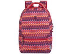 Рюкзак для ноутбука Wenger Colleague Red Native Print