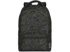 Рюкзак для ноутбука Wenger Colleague Black Fern Print