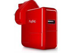 Зарядний пристрій Twelvesouth PlugBug World White/Red  (TWS-12-1211)