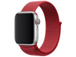 Ремінець Apple Sport Loop for Apple Watch 40mm Red  (MU962)