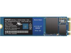 Твердотільний накопичувач Western Digital Blue SN500 2280 PCIe 3.0 x2 NVMe 500GB WDS500G1B0C