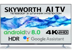 Телевізор LED Skyworth 43Q3 (Android TV, Wi-Fi, 3840x2160)