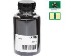 Тонер АНК OKI B412/432/MB462 Black (бутль 250г) (АНК) + чіп