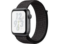 Смарт годинник Apple Watch Nike+ Series 4 GPS 40mm Space Grey Aluminium Case with Black Nike Sport Loop (MU7G2)
