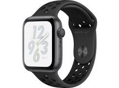 Смарт годинник Apple Watch Nike+ Series 4 GPS, 44mm Space Grey Aluminium Case with Anthracite/Black Nike Sport Band (MU6L2)
