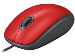 Миша Logitech M110 Silent Red  (910-005489)