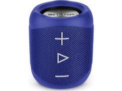 Портативна акустика Sharp Compact Blue  (GX-BT180(BL))