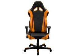 Крісло DXRACER RACING OH RE0 NO Black Orange  (OH/RЕ0/NO)