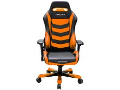 Крісло DXRACER IRON OH IS166 NB Black Orange  (OH/IS166/NО)