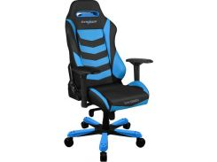 Крісло DXRACER IRON OH IS166 NB Black Blue  (OH/IS166/NB)