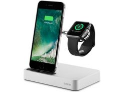 Док-станція Charge Dock iWatch and iPhone Silver