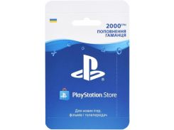 Карта поповнення гаманця PlayStation Store 2000 грн