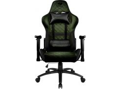 Крісло Cougar Armor One X Black/Green