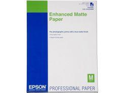 Фотопапір A4 Epson Enhanced матовий, 192 г/м2, 250 арк.