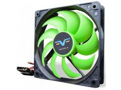 Вентилятор для корпуса Frime FGF120 Black/Green  (FGF120HB3)