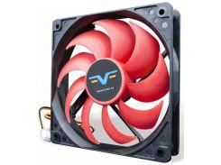 Вентилятор для корпуса Frime FRF120 Black/Red  (FRF120HB3)