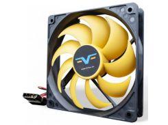 Вентилятор для корпуса Frime FYF120 Black/Yellow  (FYF120HB4)