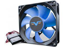 Вентилятор для корпуса Frime FBF80 Black/Blue  (FBF80HB4)