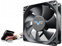 Вентилятор для корпуса Frime FF80 PWM 2BALL BEARING Black  (FF80252BBPWM)